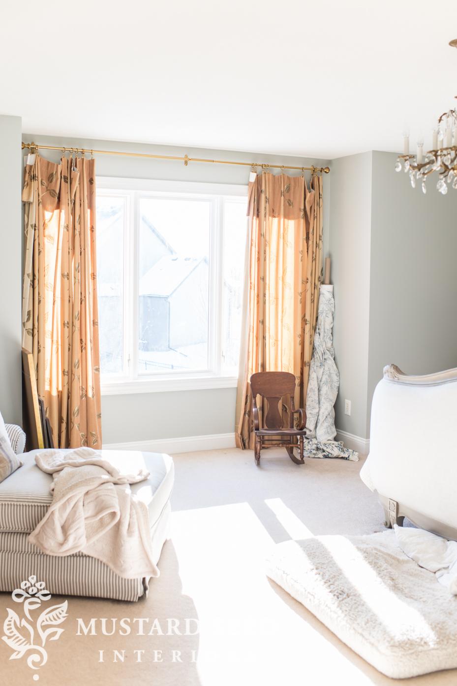 master bedroom curtains | Miss Mustard Seed on Master Bedroom Curtains  id=27386