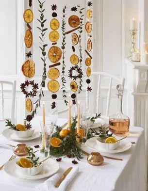 Citrus garland tree