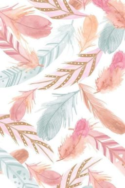 Colourful feathers aesthetic image free to download