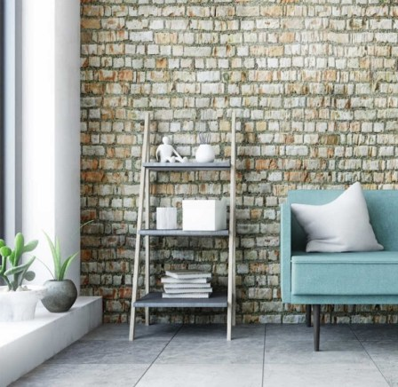 Consider using wallpapers to make a visual impact with interior design