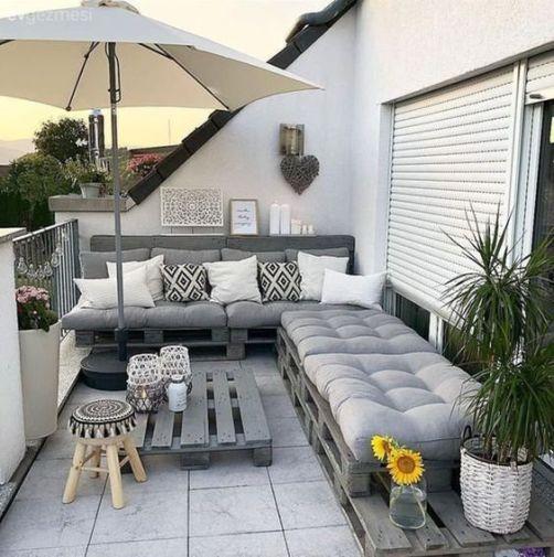 Cozy balcony decor inspiration