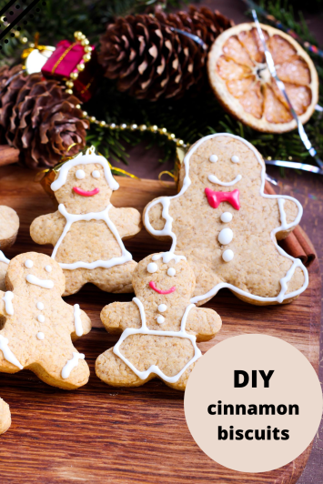 DIY Christmas cookies and biscuits gift idea