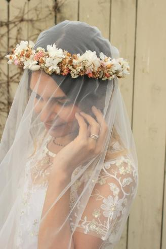 Dried and Preserved Flowers Crown