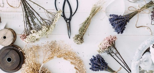 Dried flower arrangements and bouquets to add style to your home