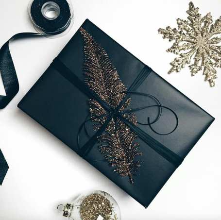 Elegant gift wrapping