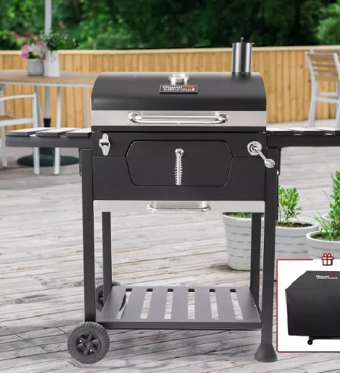 Heavy duty Charcoal Grill With Cover