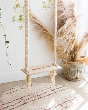 Indoor outdoor macrame swing chair - Buy it here