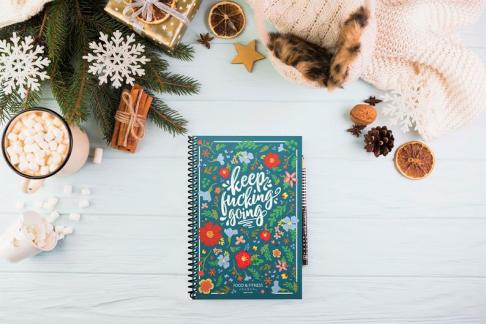 Keep a track of your fitness and yoga with a Food & Fitness Journal