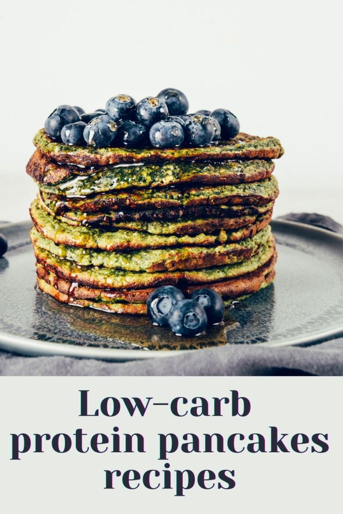 Low-carb protein pancakes recipes