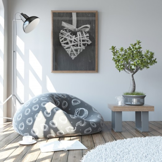 Modern living room accessories