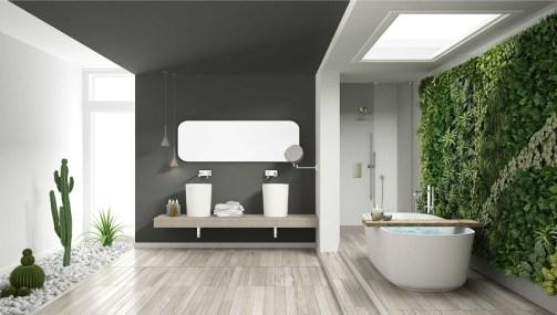 Modern scandinavian bathroom decor