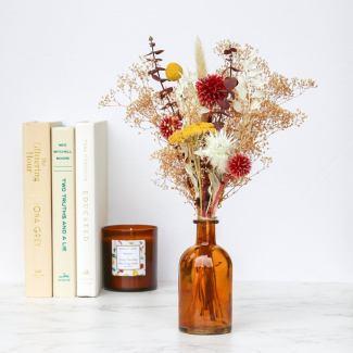 Neutral Dried Flower Arrangement