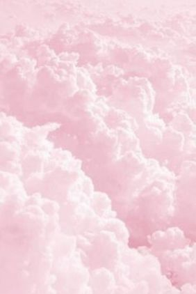 Pink clouds wallpaper