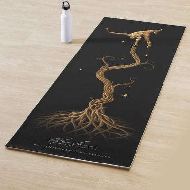 Rooted Tree Yoga Mat  for all kind of workout