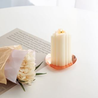 Stair decorative candle