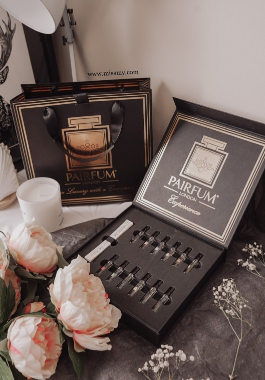 The London pairfum box review how I received the bag. London Pairfum review - a luxurious experience in the comfort of your own home