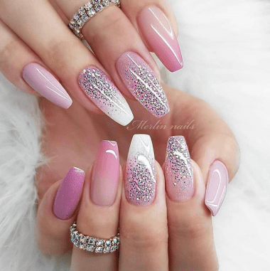 The best winter nails design