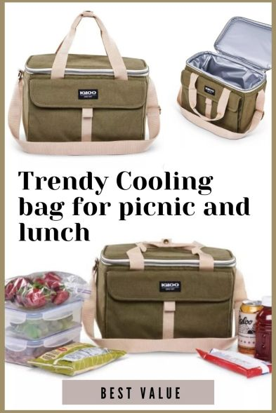 Trendy Cooling bag for picnic and lunch