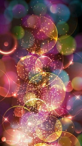 Twinkles, sparkles and breath-taking colours – magic wallpaper for iPhone