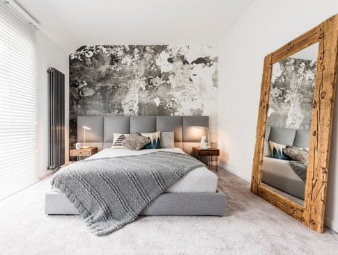 Use mirrors to create an illusion of bigger space