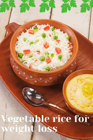 Vegetable Pilaf and Wild Rice Recipe for weight loss. Healthy rice recipes for weight loss