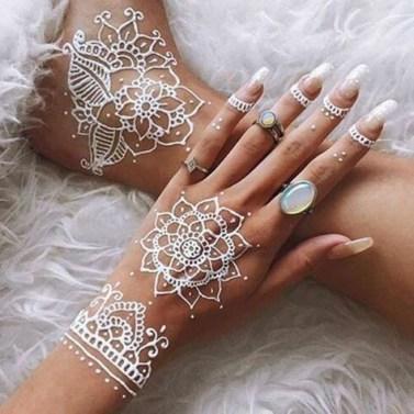 cute henna tattoo design ideas
