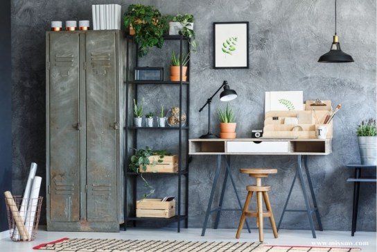 Wine wooden crates can be transformed into plants cover pot and magazines storage box
