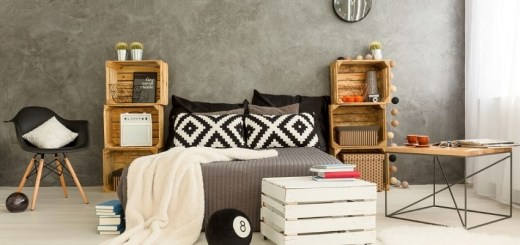 Wooden crate home decor ideas to add personality to any room