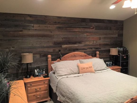 You can buy here Reclaimed Wood Paneling for DIY projects