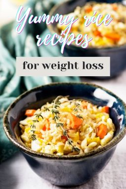 Yummy rice recipes for weight loss