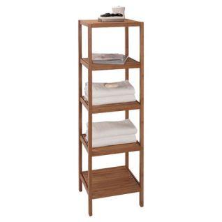 bamboo shelves for bathroom