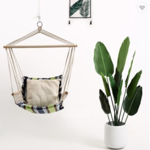 Simple and classic hammock hanging chair . cheap ceiling hanging chair