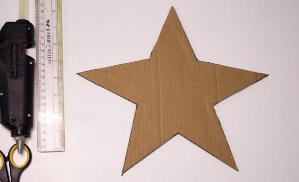 easy cardboard star tray