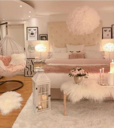 glam bedroom decor. glam bedroom decor with egg chair