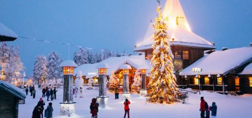 The best Christmas holidays for families and friends around the world.