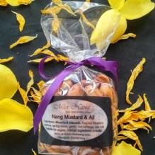 Vegan kosher gluten free snack - mustard and all Miss Nang Treats 2 web