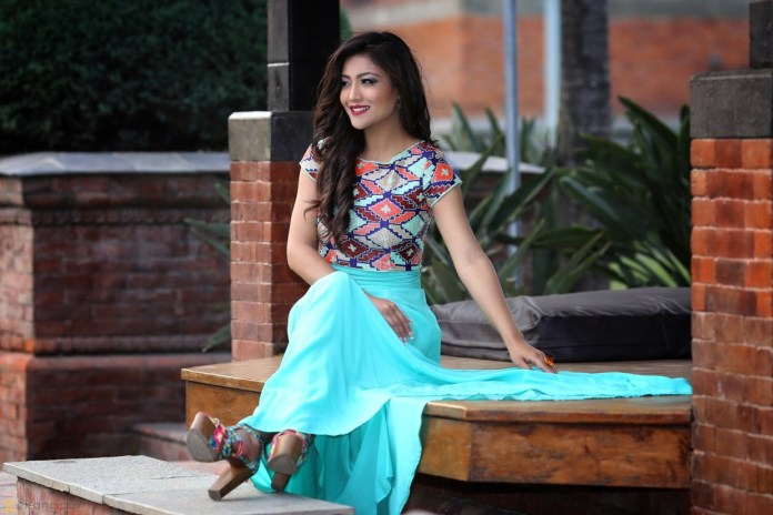 Evana Manandhar Miss Nepal 2015