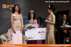 Evana Manandhar Miss Nepal Crowning 3