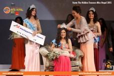 Evana Manandhar Miss Nepal Crowning 5