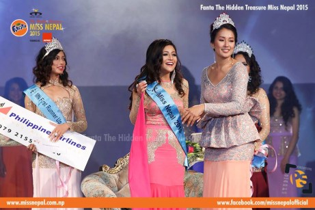 Evana Manandhar Miss Nepal Crowning 6