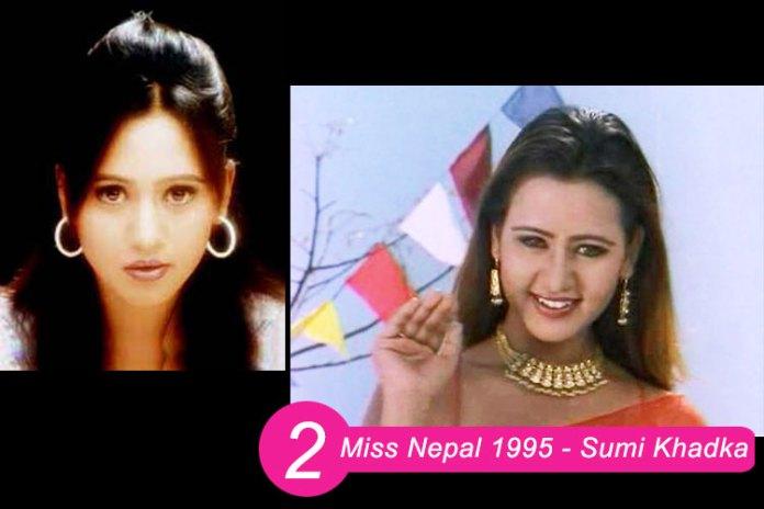 Miss Nepal 1995 Sumi Khadka