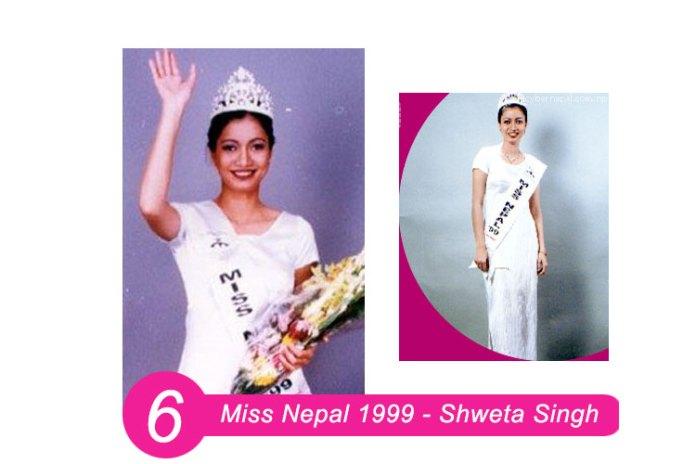 Miss Nepal 1999 – Shweta Singh