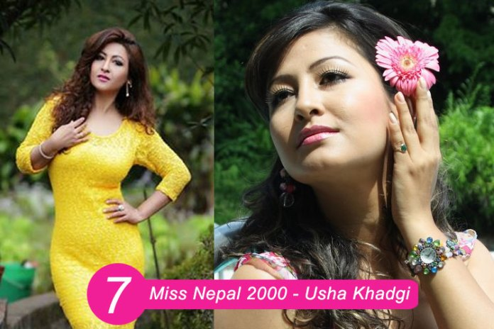 Miss Nepal 2000 – Usha Khadgi
