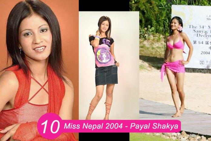Miss Nepal 2004 – Payal Shakya