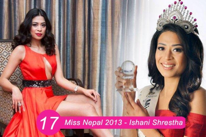 Miss Nepal 2013 – Ishani Shrestha