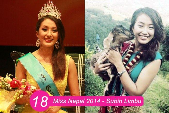 Miss Nepal 2014 – Subin Limbu