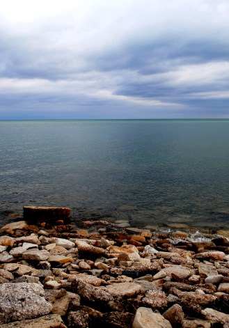 Lake Michigan...