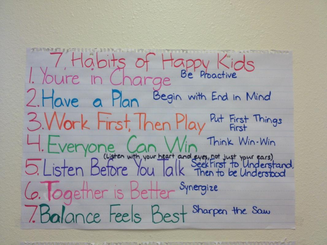 Category 7 Habits Of Happy Kids