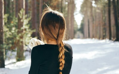 A Simple Braid for the Outdoorsy Girl