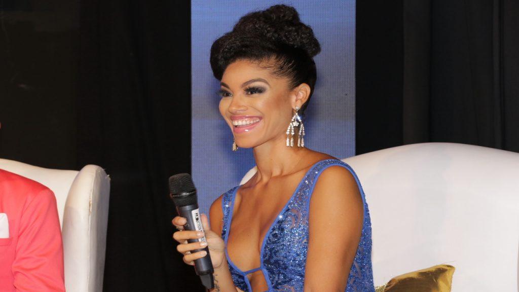 World Miss Jamaica 2017 Yellow